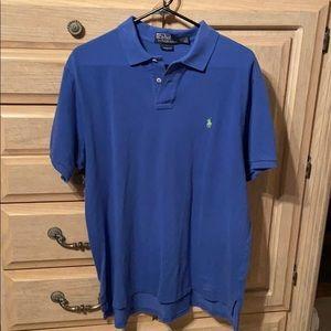 Men's polo collared shirt